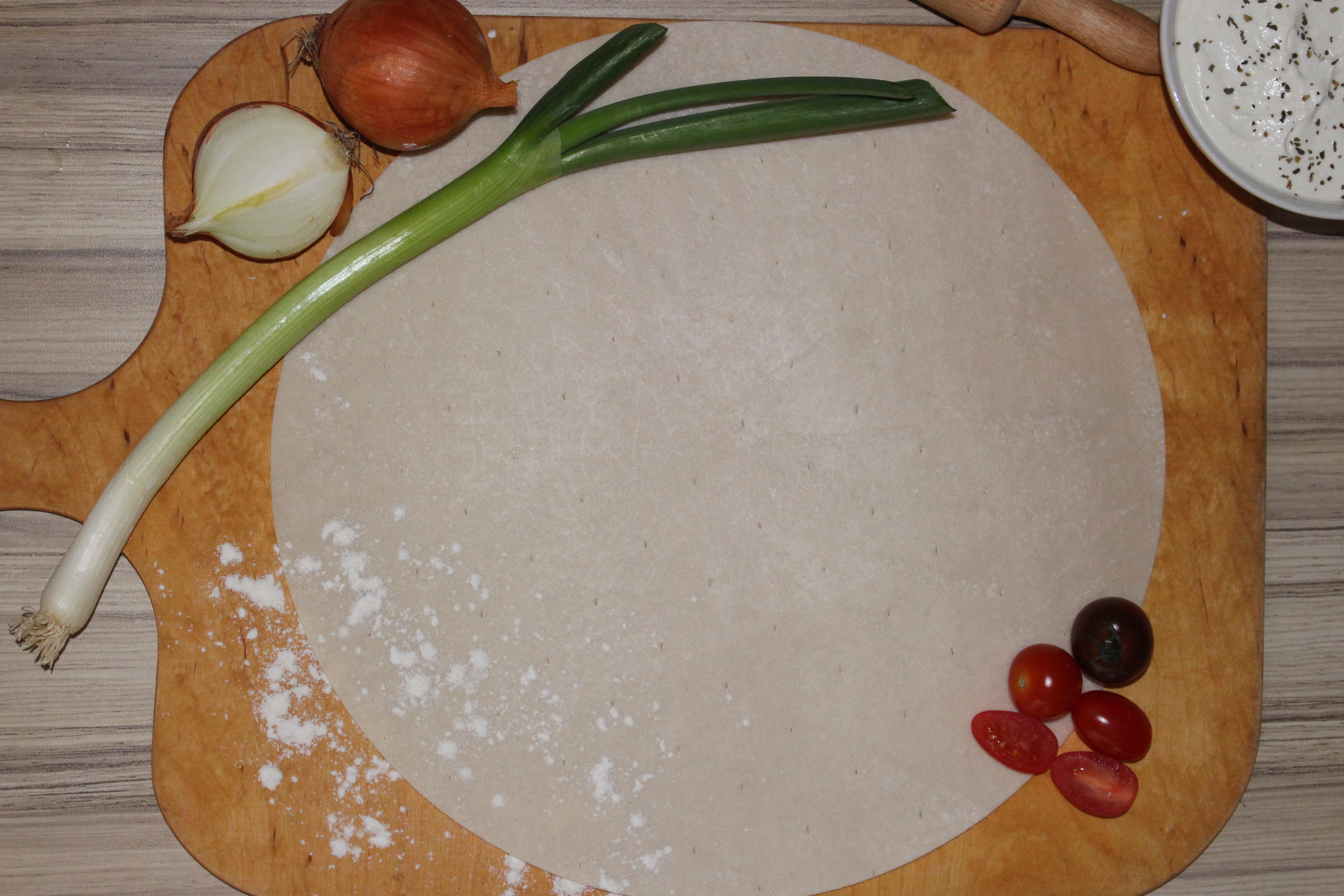 Flammkuchen Teigboden rund Ø 30 cm 25 Stück